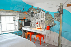 Bed and Breakfast Cornwall - The Artist Residence, Penzance.