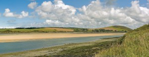 The Camel Estuary in Cornwall - a beautiful place to visit in Cornwall