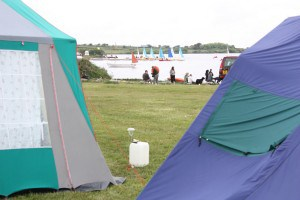 One of the most beautiful campsites in Cornwall right on the waters edge at Stithians Lake nr Redruth.