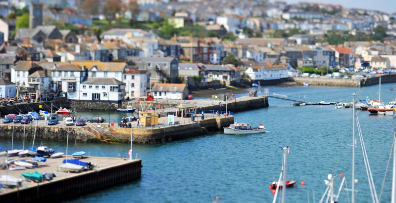 Towns in Cornwall - Falmouth