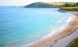 Gylly Beach in Falmouth - a fantastic family blue flag beach.