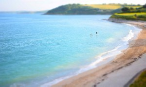 Blue flag beaches in Cornwall - Gylly Beach