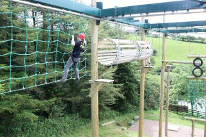 High Ropes at Siblyback Lake, a great day out in Cornwall.