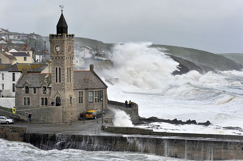 Porthleven, a beautiful town to visit in Cornwall.