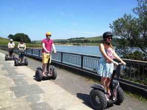Segway Adventures at Siblyback Lake in Cornwall.
