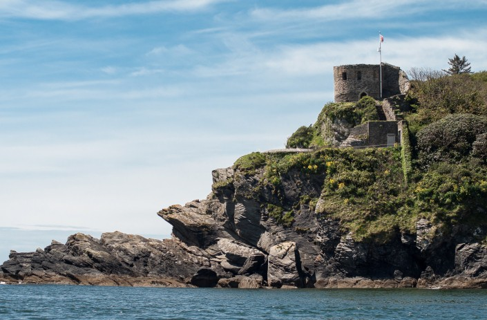 St Catherine's Castle in Fowey - a great day out in Cornwall.