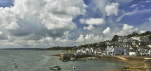 The village of St Mawes - a fantastic place to visit in Cornwall.