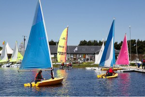 Stithians Lake offers plenty of things to do including on and off the water activities.