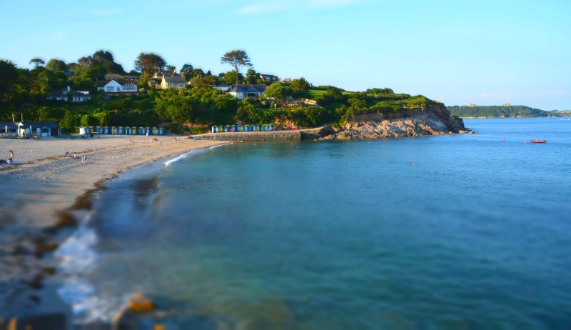 Beaches in Falmouth - Swanpool beach