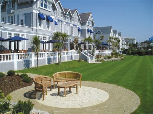 The Royal Duchy Hotel in Cornwall boasts beautiful sea views and fantastic grounds.