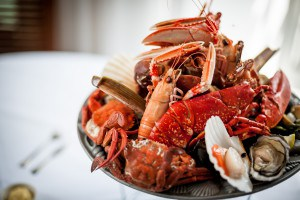 The Seafood Restaurant, one of the best places to eat in Cornwall.