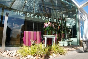 The Seafood Restaurant Padstow - one of the best restaurants in Cornwall for fish.