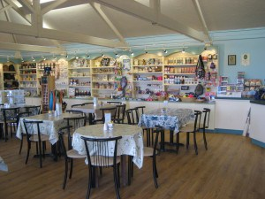 Delicious cafe at Tamar Lake in North Cornwall.