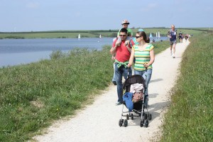 Tamar Lake has beautiful accessible walks - great for days out in Cornwall with all the family.
