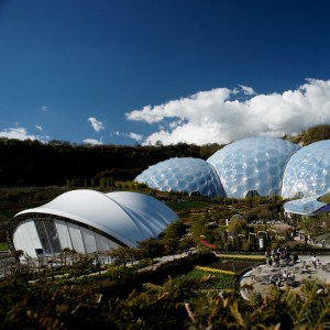Places to visit in Cornwall - Eden Project