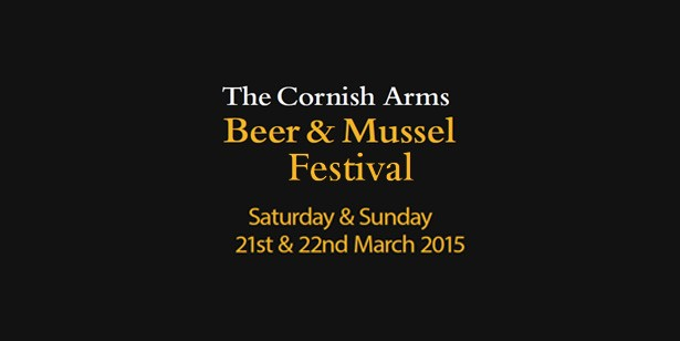 The Cornish Arms, Beer and Mussel Festival