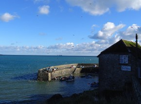 The harbour at Coverack - a fantastic place to visit in Cornwall.