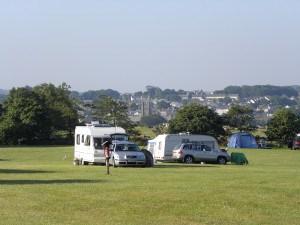 Campsites in Cornwall - Trewan Hall