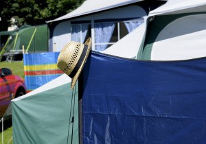 Campsites in Cornwall - Hendra Holiday Park