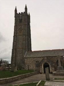 Church at St Column Minor, Cornwall