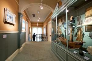 Penlee House Gallery, in Penzance, Cornwall