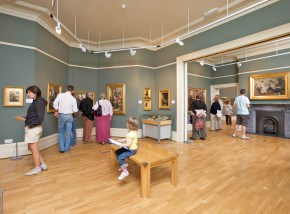 Penlee House Gallery in Penzance is one of the best cultural attraction in Cornwall.