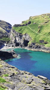 Places to visit in Cornwall - tintagel castle
