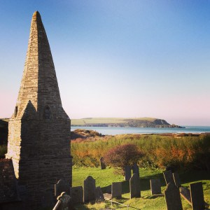 St Enodoc Church, in Cornwall - close by the beautiful beach of Daymer Bay.