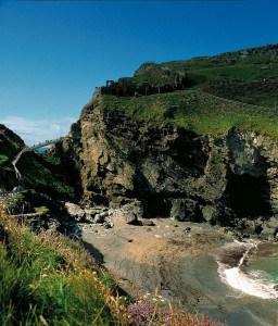 Cornish Landmarks - Tintagel Castle