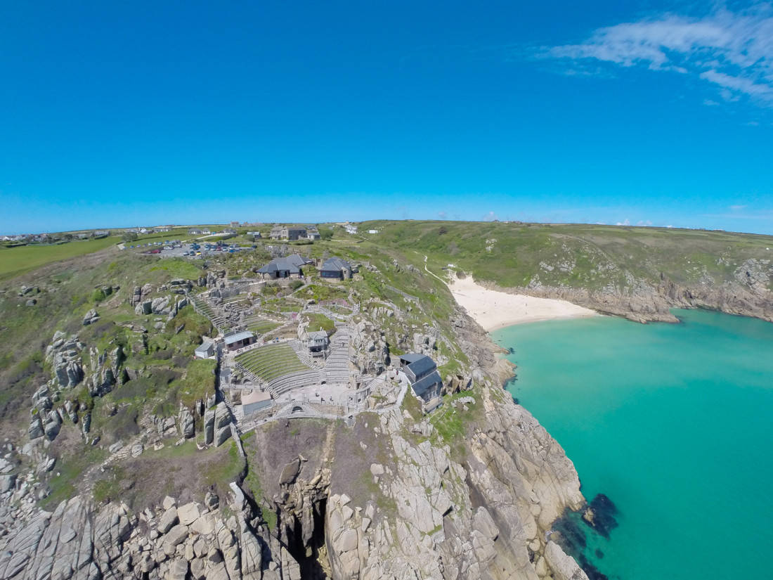 Aerial Cornwall Photography Beautiful Aerial Images Of