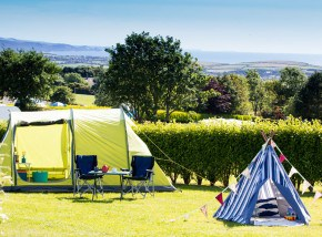 Campsites in Cornwall - Wooda Farm