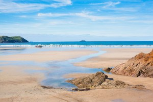 Polzeath - one of the best beaches in Cornwall