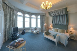 Beautiful rooms at the Headland Hotel in Cornwall