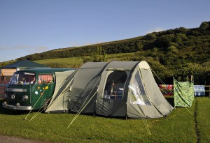 Campsites in Cornwall - Porth Beach Holiday Park