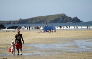 Beaches in Cornwall - Porth Beach