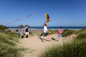Campsites in Cornwall - Holywell Bay
