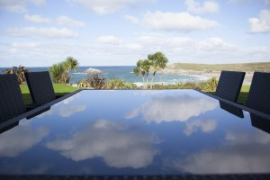 View from Crantock Bay - Self catering accommodation Cornwall