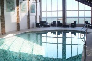 Swimming pool at Crantock Bay - Self catering Cornwall