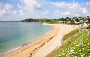 Blue flag beaches in Cornwall - Gyllyngvase Beach