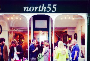 North 55 gallery in Cornwall