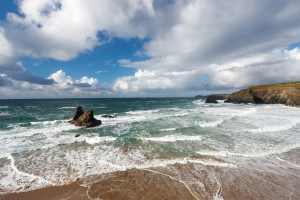 Beaches in Cornwall - Porthcothan