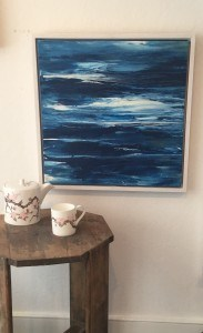 Beautiful painting by Cornish artists North 55