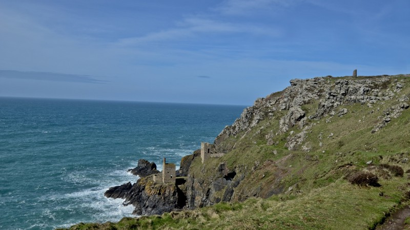 Places to see in Cornwall - Botallack Mine