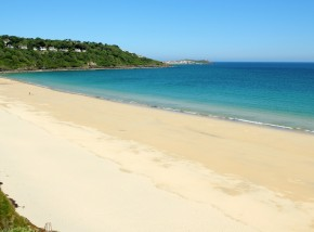 Blue flag beaches in Cornwall - Carbis Bay