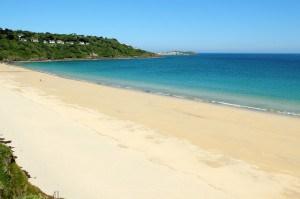 Blue flag beaches in Cornwall - Carbis Bay