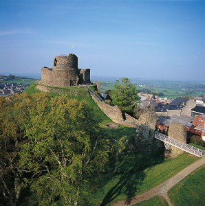 Landmarks in Cornwall - Launceston Castle