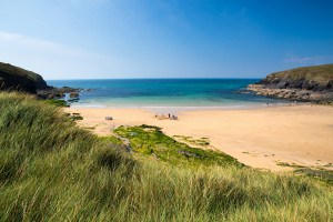 Beaches in Cornwall - Poldu Cove