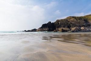 Beaches in Cornwall - Polurrian Cove