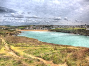 Beaches in Cornwall - Porth Beach, Newquay