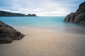 Beaches in Cornwall - Porthcurno